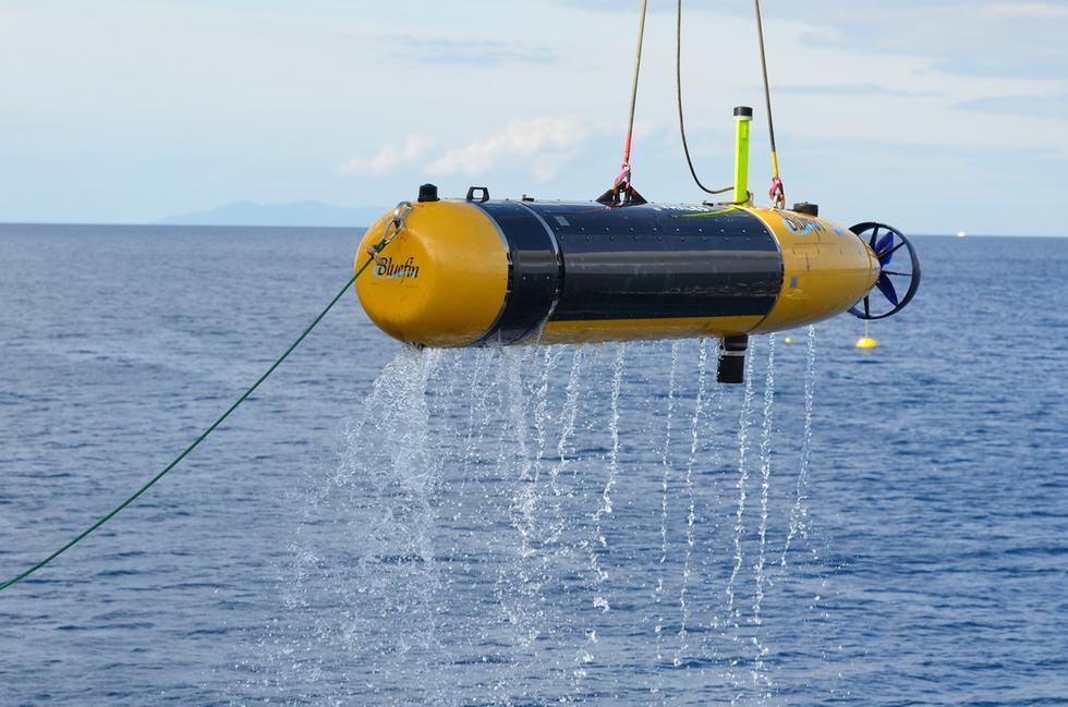 Muscle, il robot della Nato che va a caccia di mine nel mare