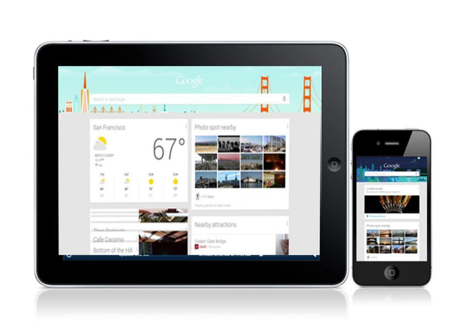 Google Now è pronto a sbarcare su iPhone e iPad