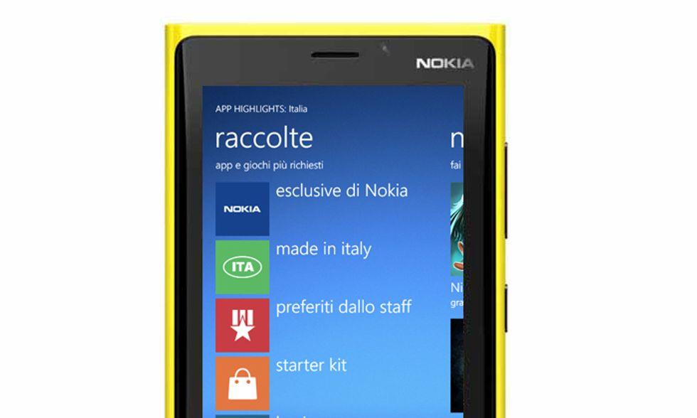Le migliori applicazioni (italiane) per Windows Phone