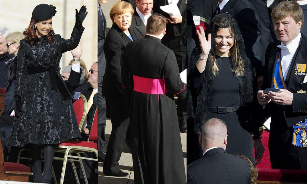 Papa Francesco, l'intronizzazione: il look di first lady e donne leader