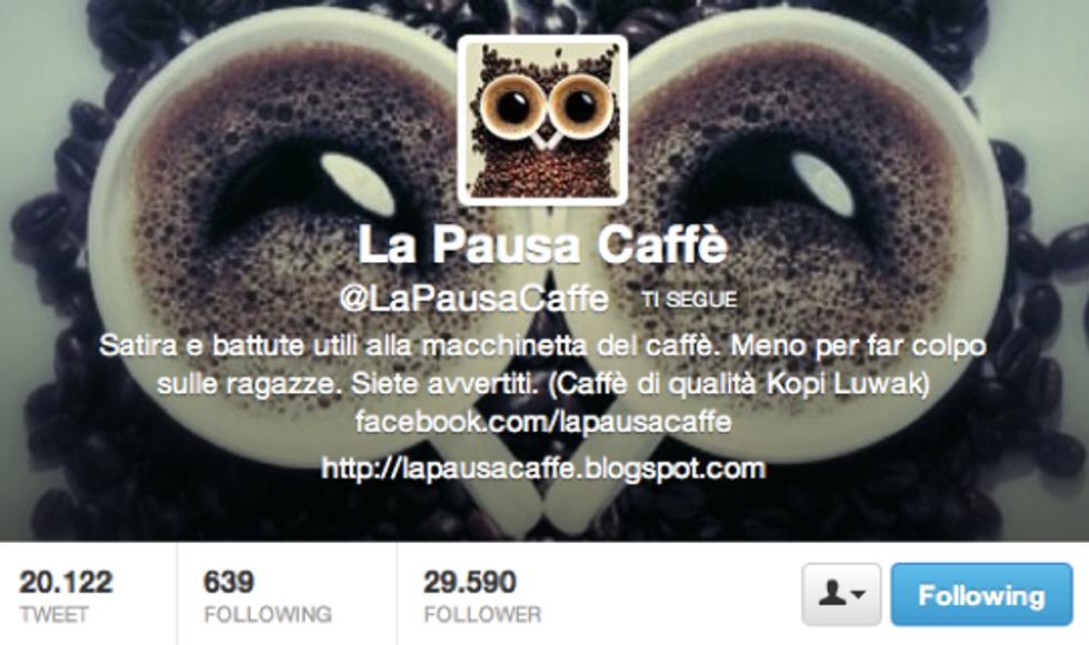 @LaPausaCaffe': Se mi avanza un po' di tempo conto anche di dormire ogni tanto