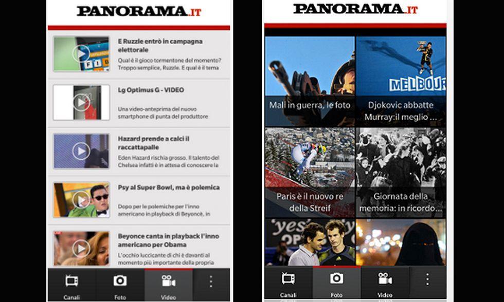 Panorama è anche su BlackBerry 10