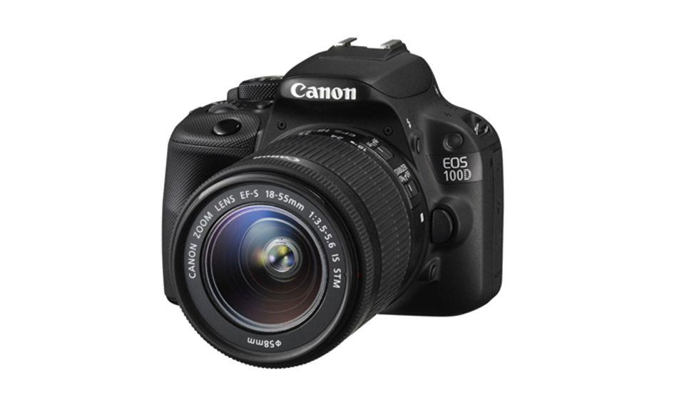 Canon Eos 100D, la reflex più piccola del mondo