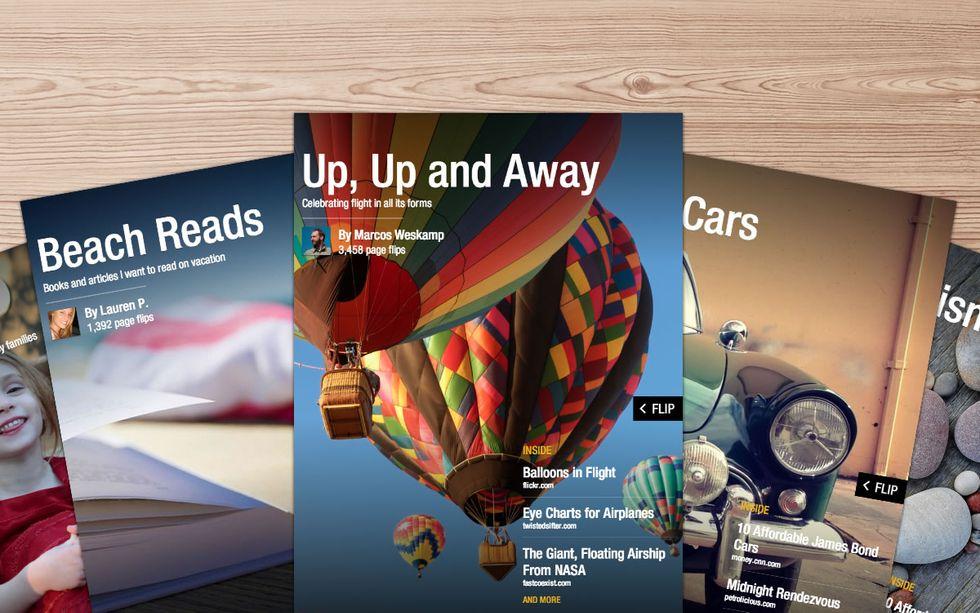 Flipboard 2.0, ora chiunque può creare una rivista e pubblicarla online