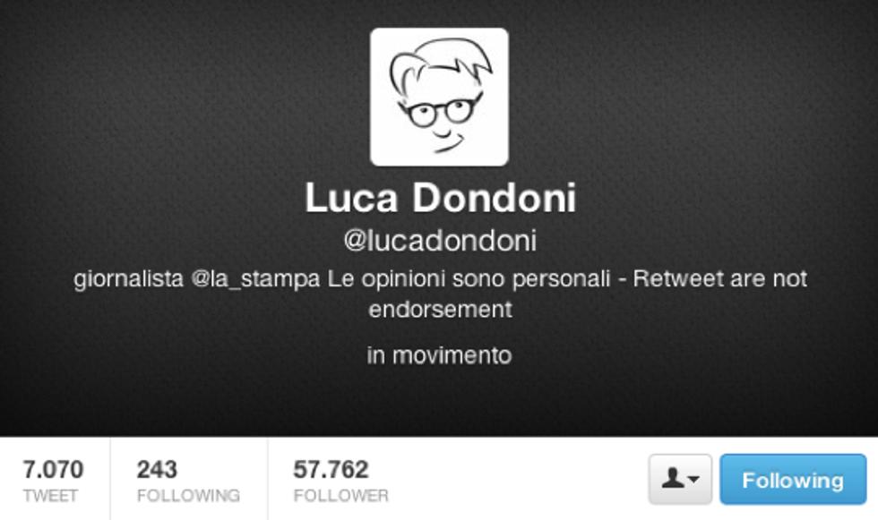 Luca Dondoni: Li metto in guardia prima