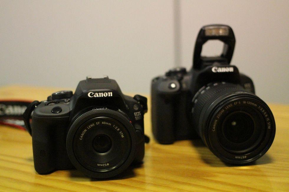 Canon Eos 100 o 700D, quale scegliere?