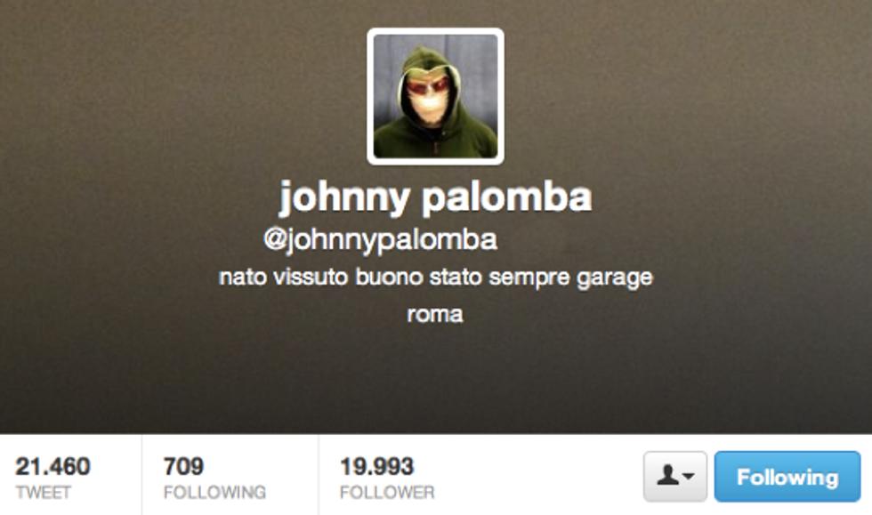 Johnny Palomba: Più riconoscibile di così