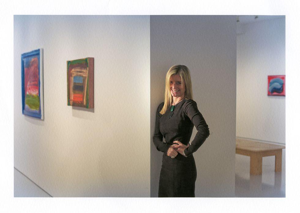 Valentina Castellani, Regina di quadri in casa Gagosian