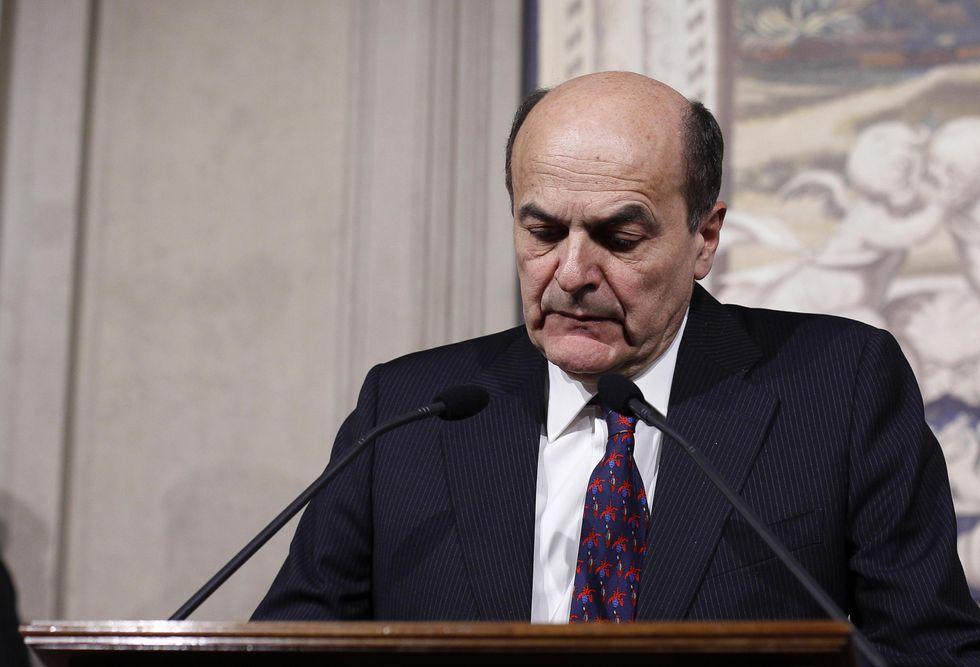 Bersani ha fallito, tocca a Napolitano