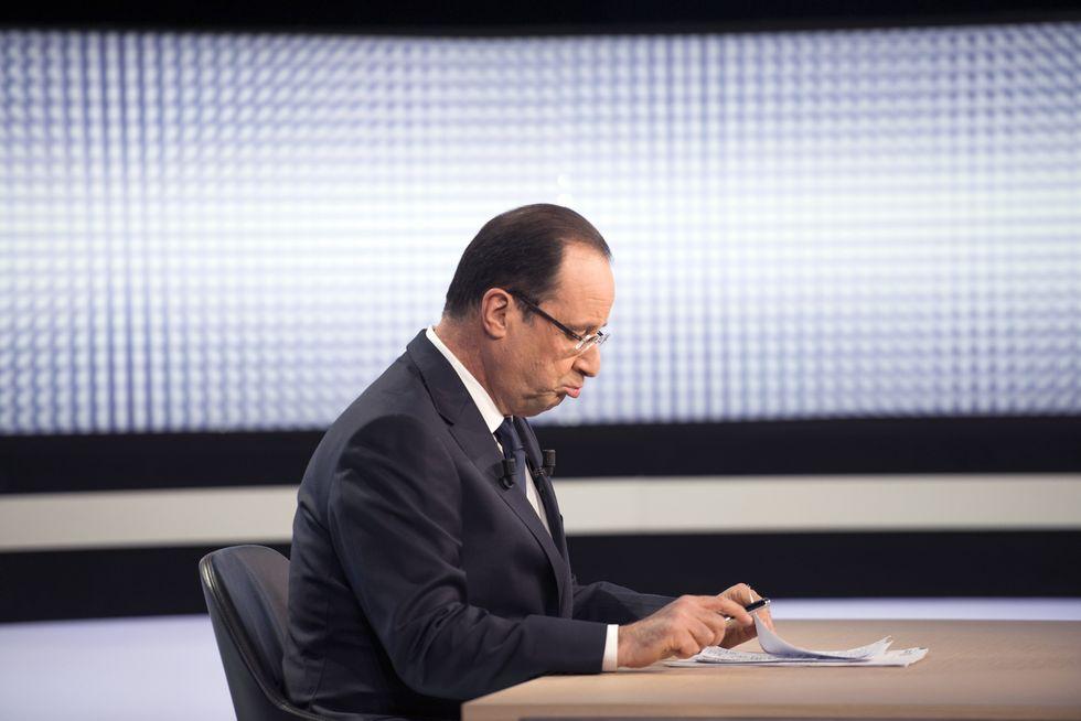 Hollande attacca l'Italia; da che pulpito...