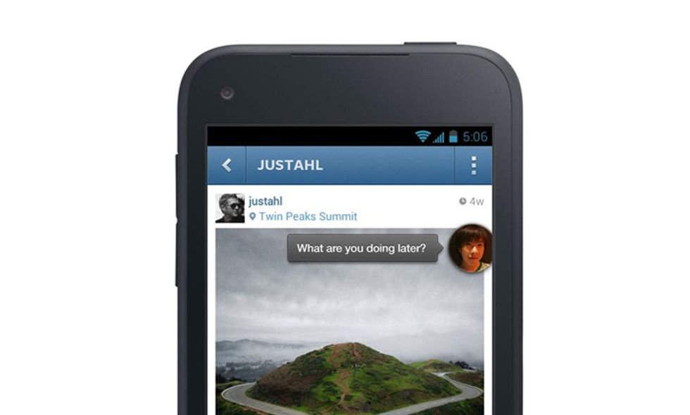 Home: così Facebook stravolge Android