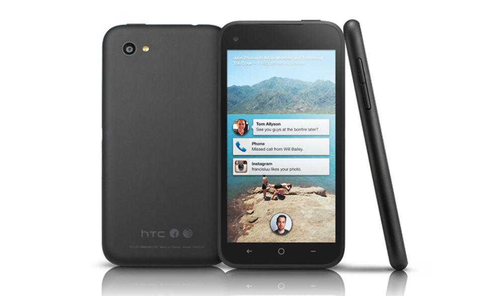 HTC First, il primo smartphone con Facebook Home visto da vicino