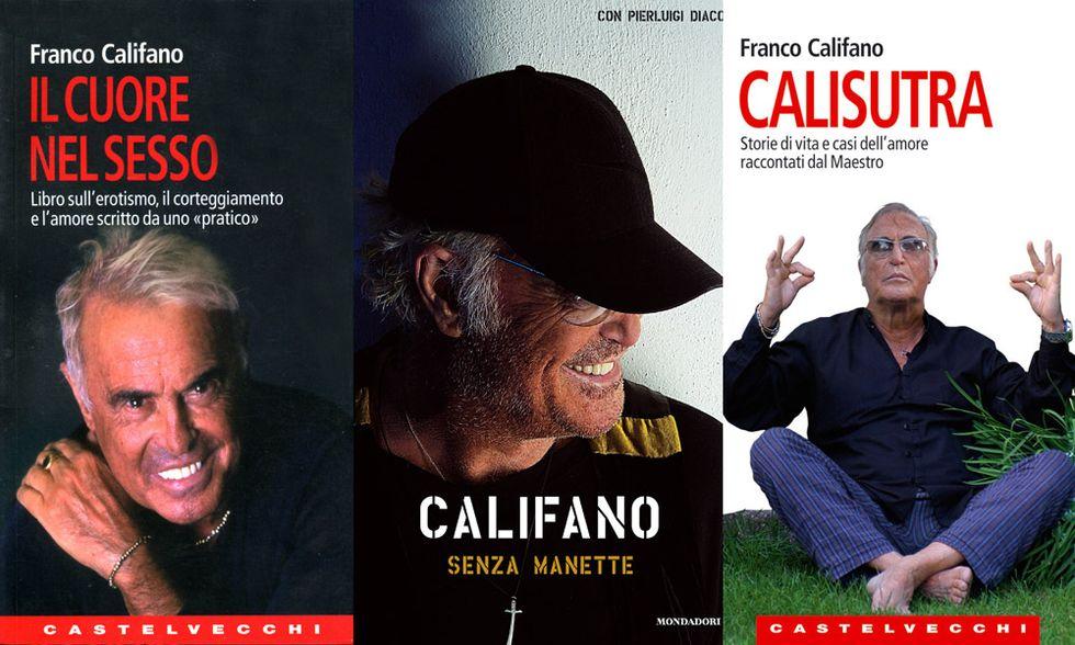 Franco Califano e i libri: grande poeta popolare
