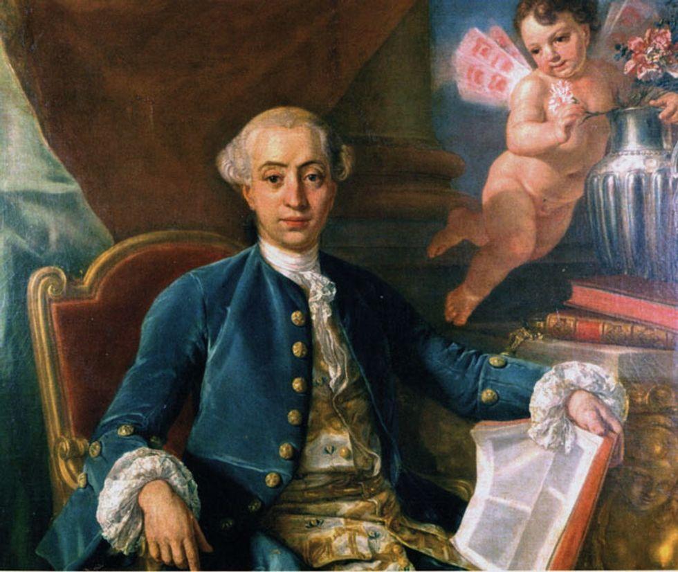 Giacomo Casanova svelato in un nuovo libro