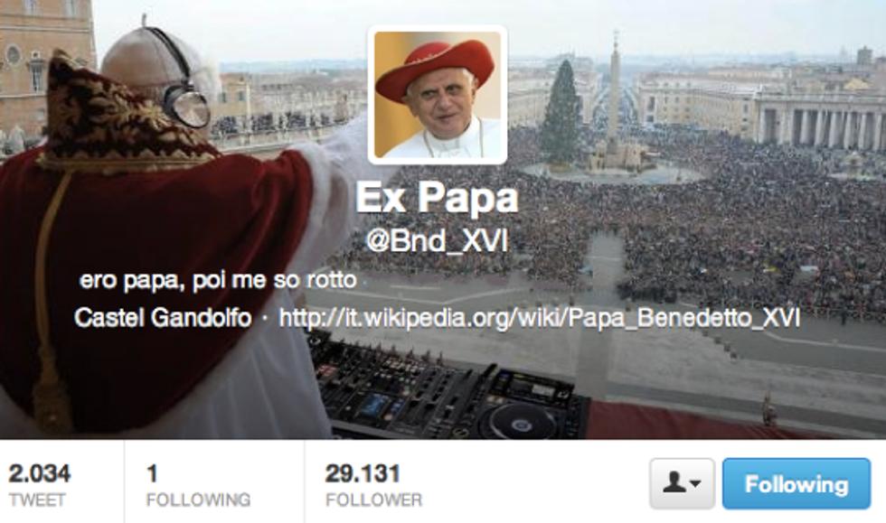 @Bnd_ XVI: ner tempo libero me piacerebbe scrive sur Blog, oppure farme n'orticello