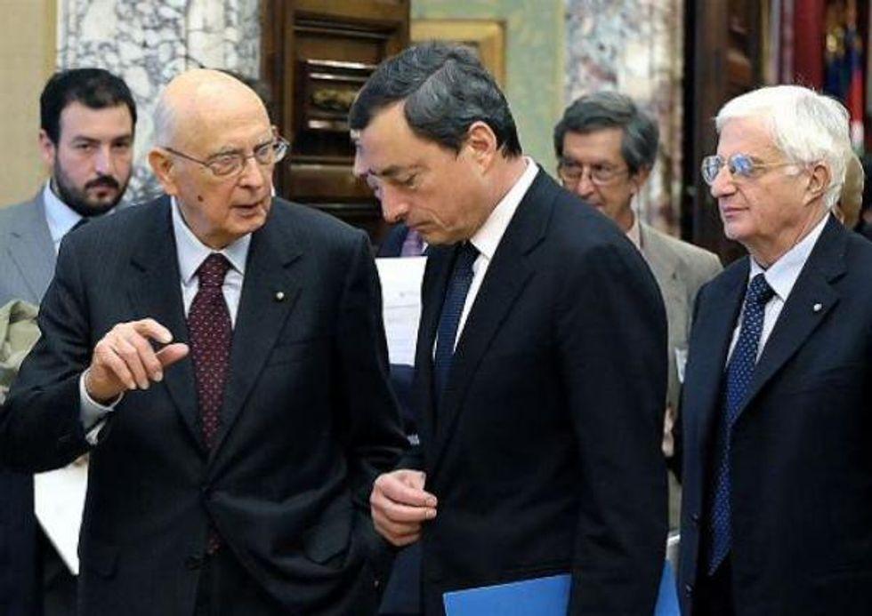Draghi pessimista: non c'è ripresa, colpa dei governi