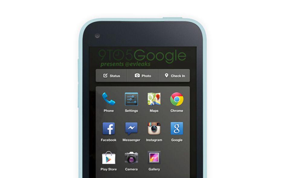 HTC First, ecco come sarà il primo Facebook-phone