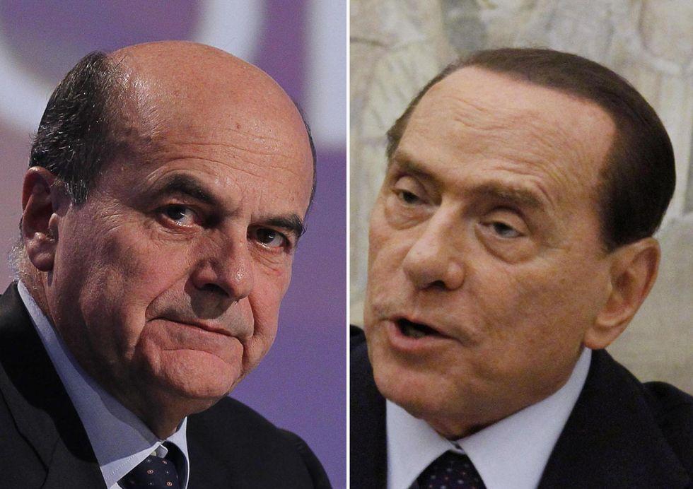 Cosa si diranno (forse) Berlusconi e Bersani