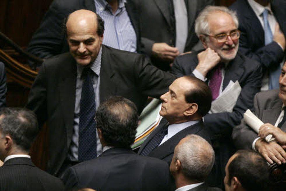 Berlusconi-Bersani, il faccia a faccia