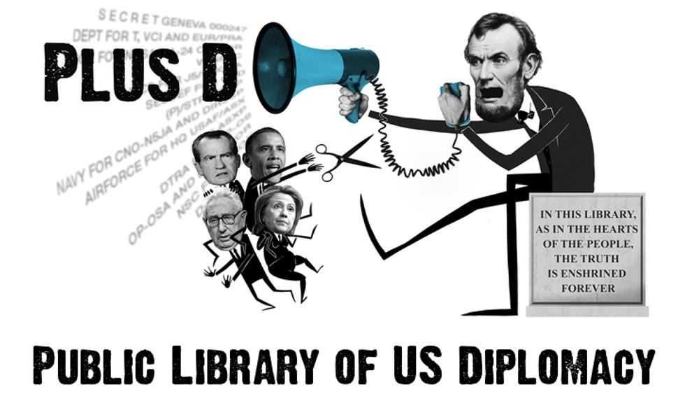 WikiLeaks svela nuovi segreti con PLUS D e i Kissinger Cables