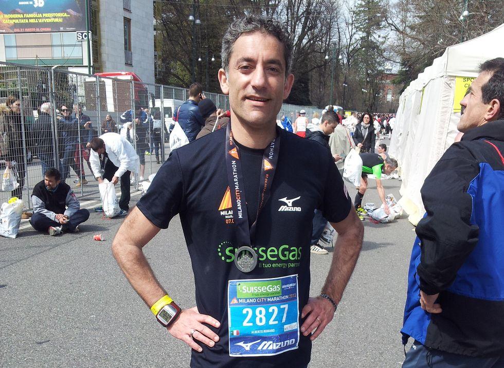 Il racconto del nostro inviato alla Maratona di Milano