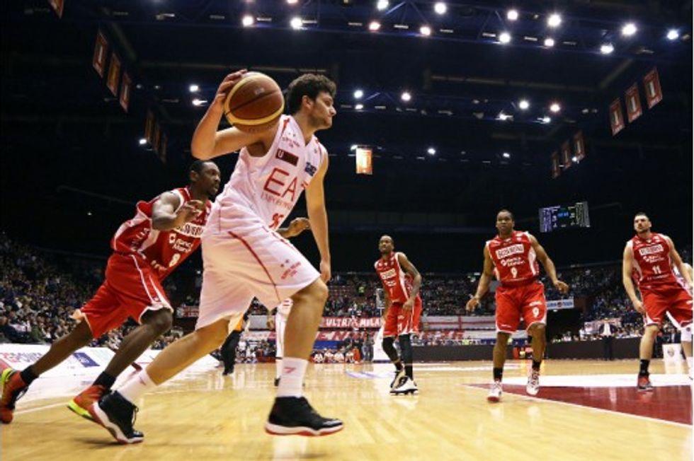 Basket serie A: vince solo Milano