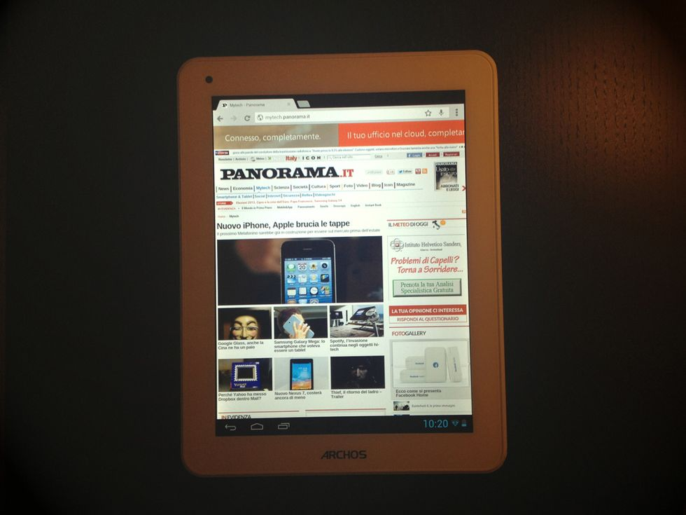 Archos 80 Titanium: la recensione del mini tablet