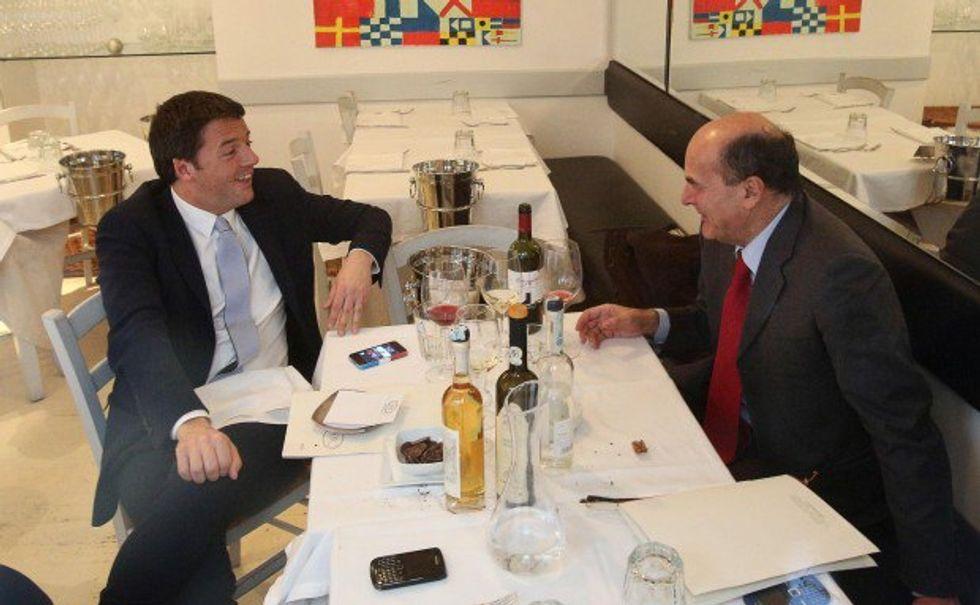 Bersani vs Renzi: la storia, le parole