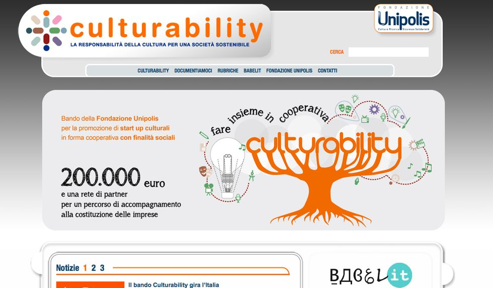 C'è cultura in quelle 20 start-up