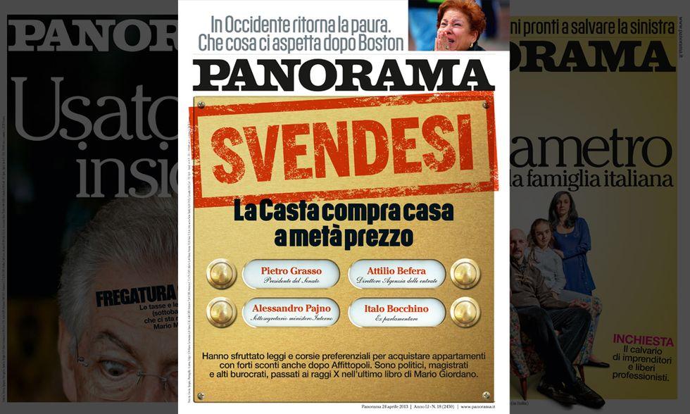 """Panorama: la """"Casta"""" compra casa a metà prezzo"""