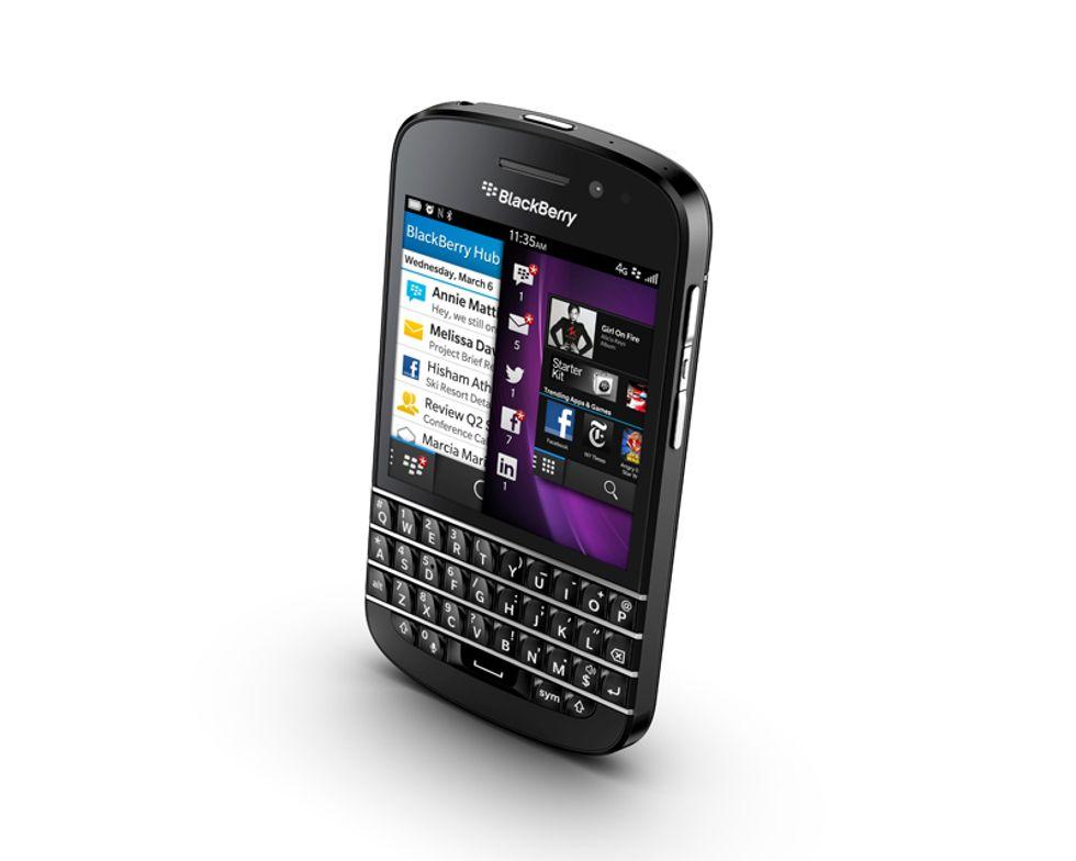 BlackBerry Q10, il gemello Qwerty dello Z10