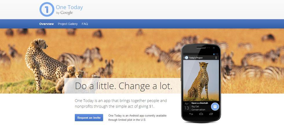 Google One Today, beneficenza a portata di smartphone