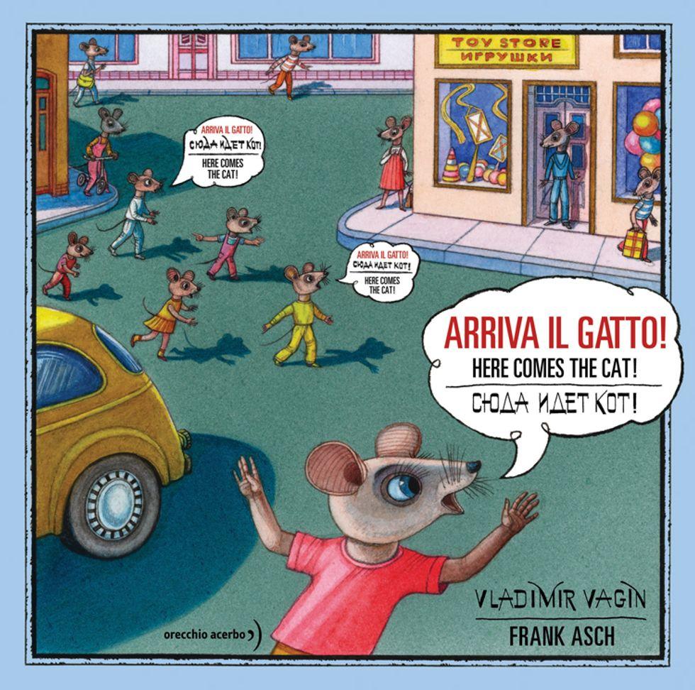 """""""Arriva il gatto!"""", storia illustrata contro i pregiudizi"""