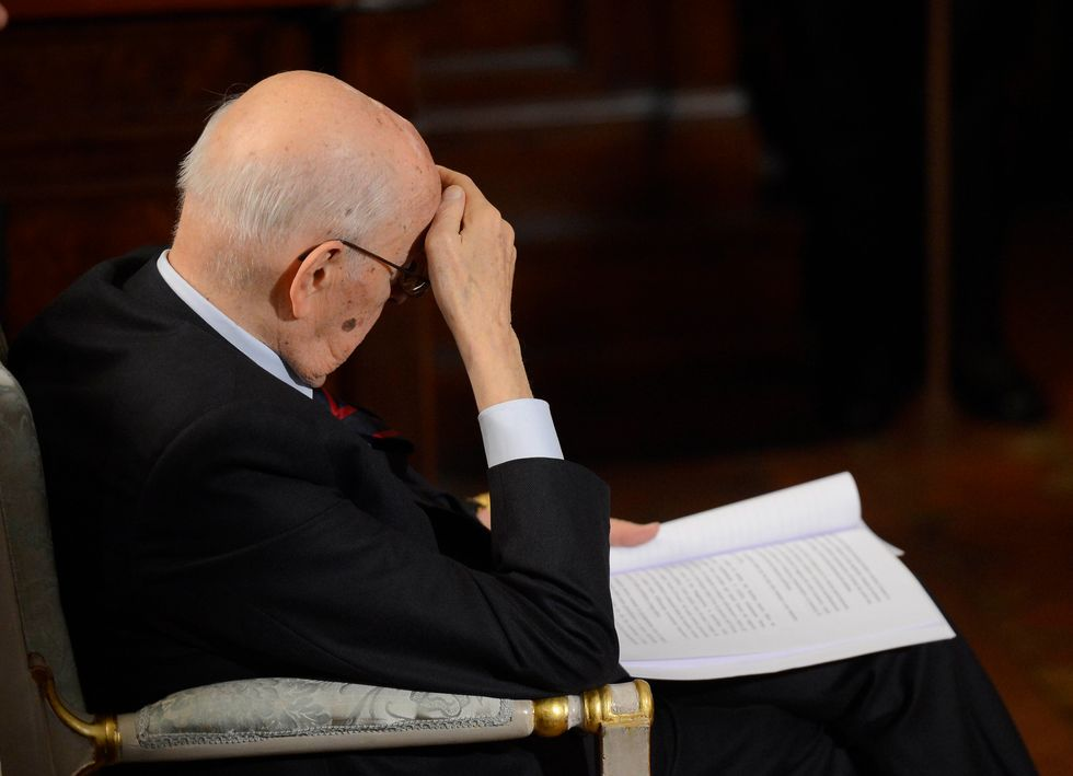 Napolitano e le dieci emergenze economiche del Paese