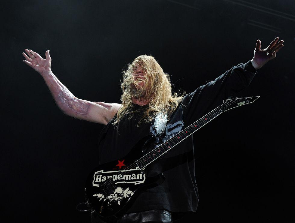 È morto Jeff Hanneman, guitar hero degli Slayer