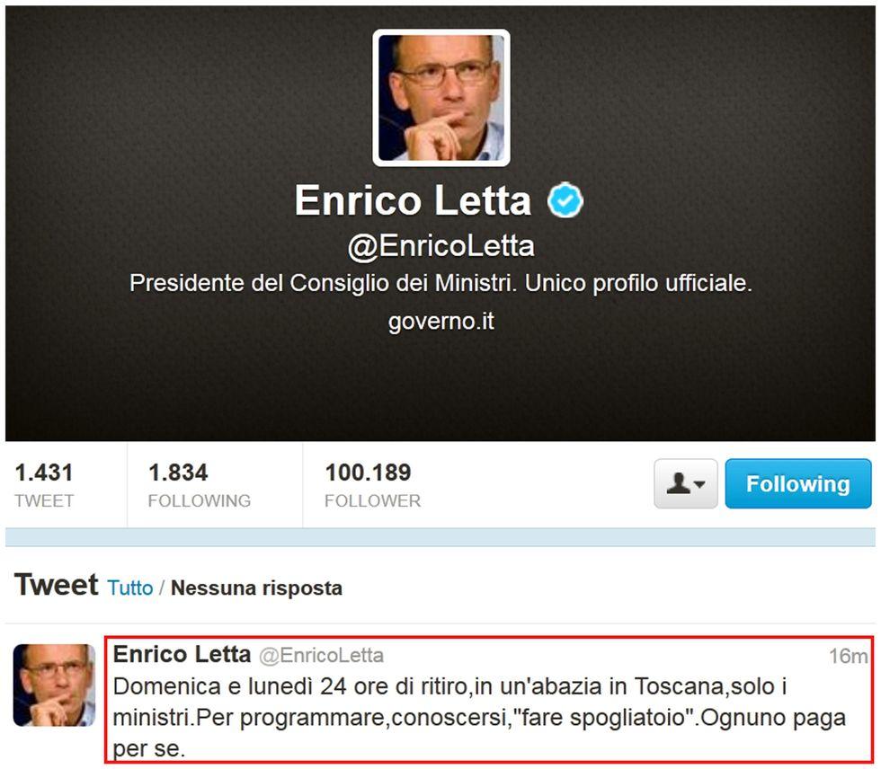 Esecutivo Letta: un linguaggio tra Twitter e la Dc