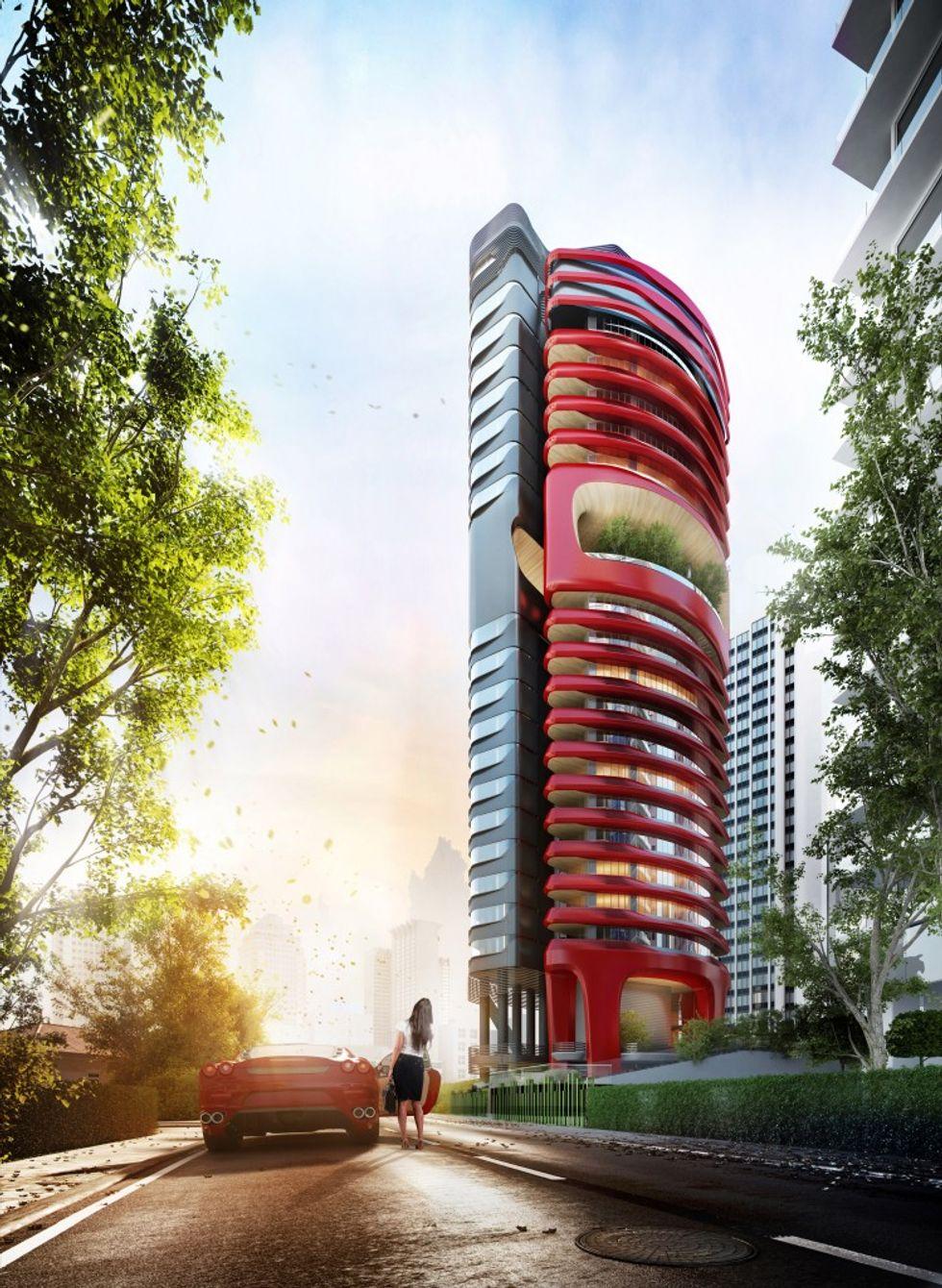 A Singapore un condominio di lusso firmato Pininfarina