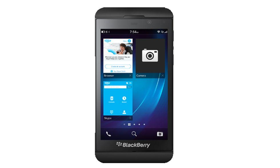BlackBerry Z10, arriva Skype