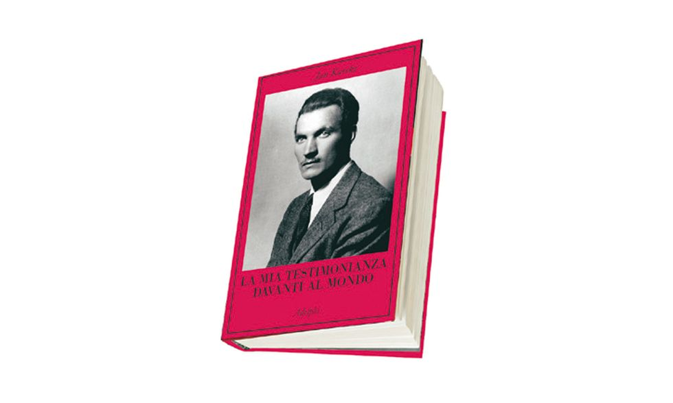 """""""La mia testimonianza davanti al mondo"""" di Jan Karski"""