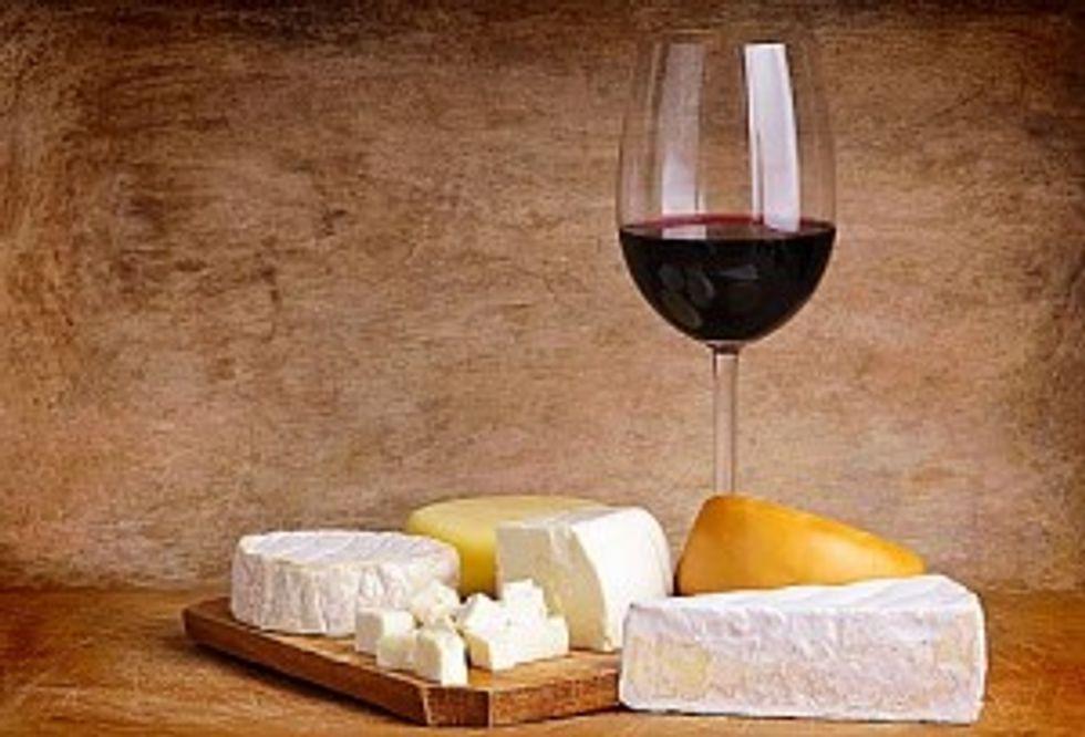 Vini italiani per formaggi francesi
