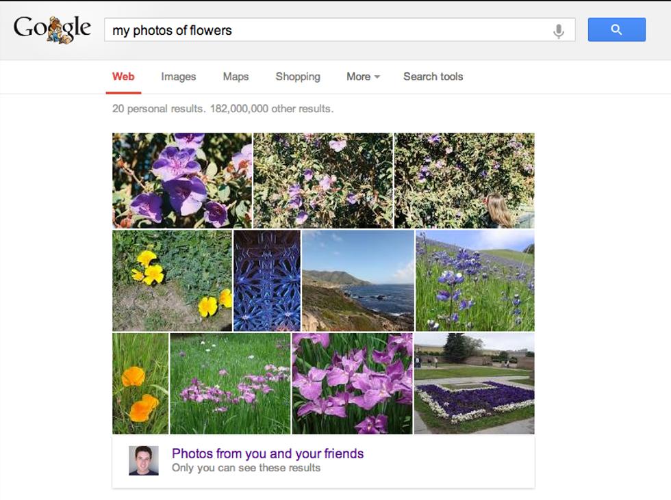 Google ti aiuta a trovare le foto. Anche le tue