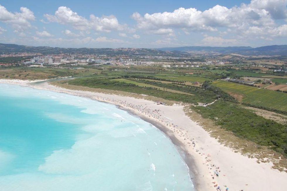 La 'spot beach' d'Italia è esplosivo