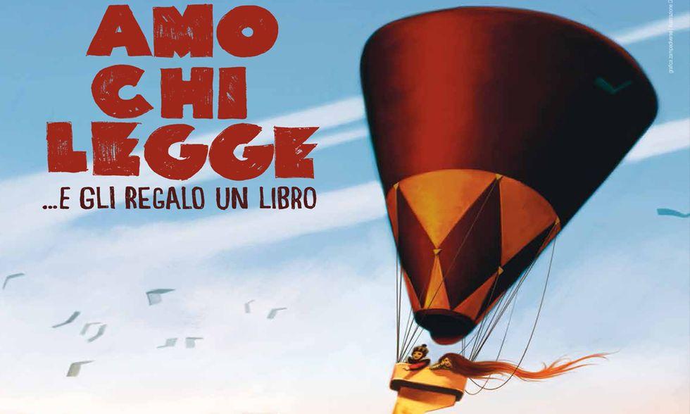 """""""Amo chi legge...e gli regalo un libro"""": dal 23 al 27 maggio in tutta Italia"""