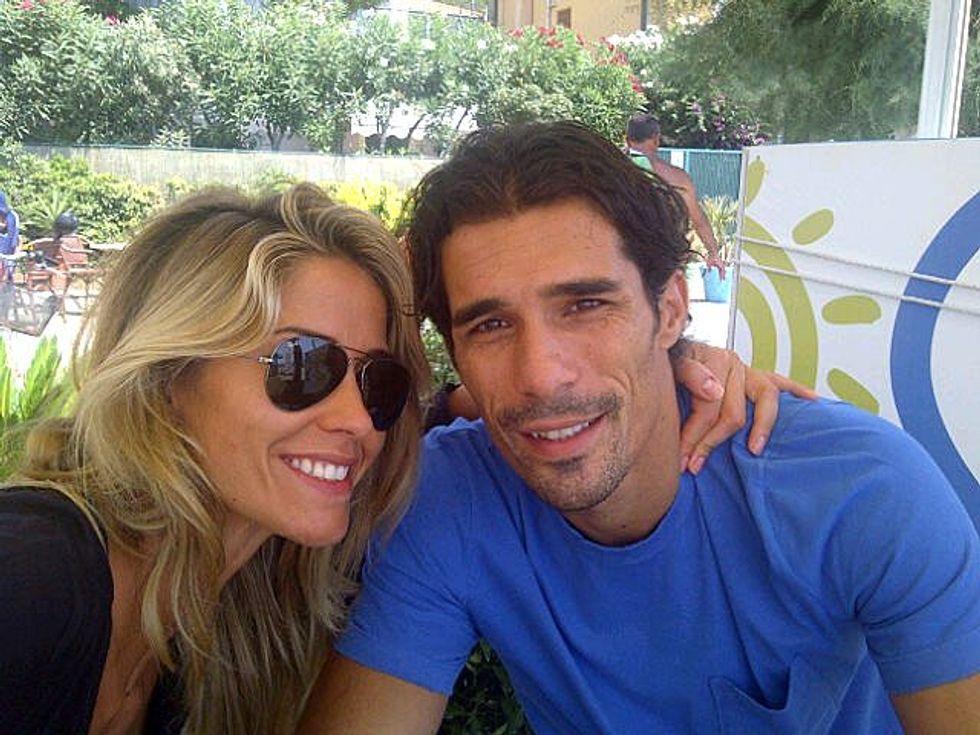Santarelli e Corradi, nozze in vista