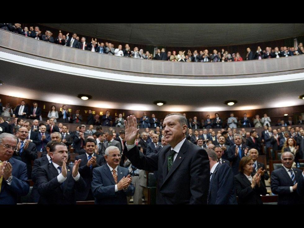 Erdogan bifronte
