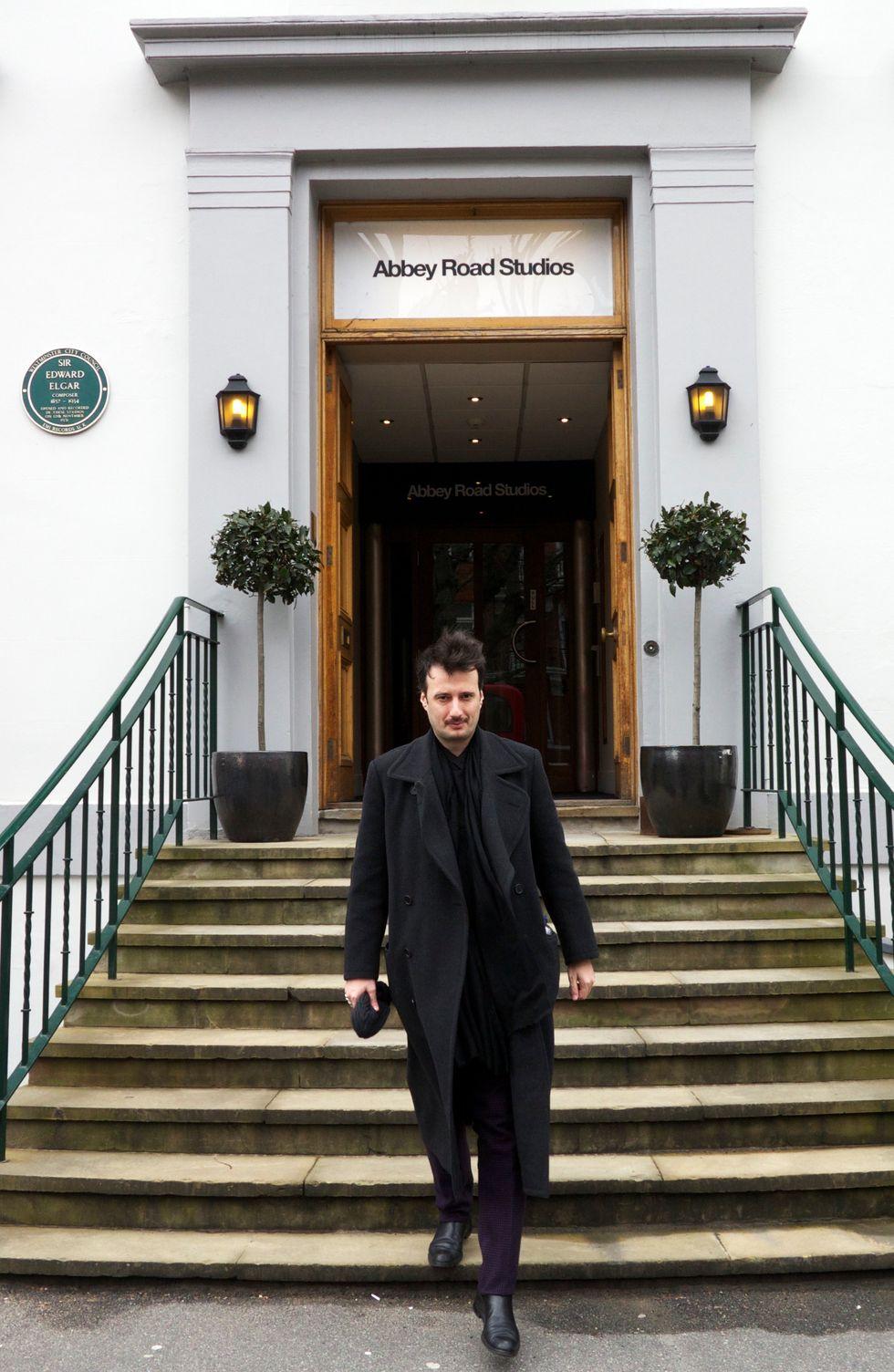 """Matteo Ceccarini: """"Il mio disco ha il suono degli Abbey Road Studios"""""""