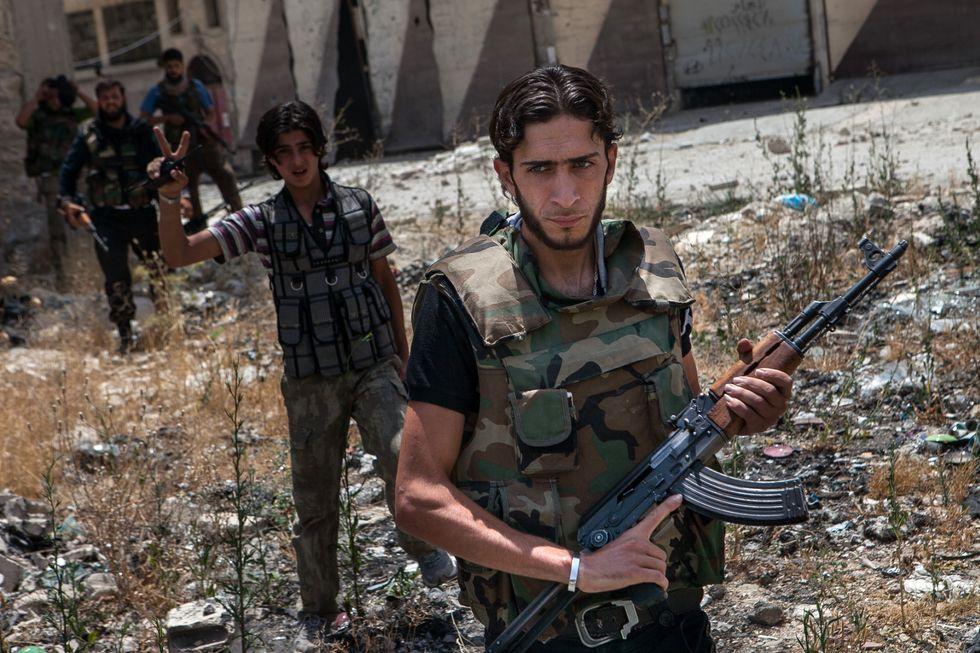 L'esercito siriano sta gasando i civili in Siria?