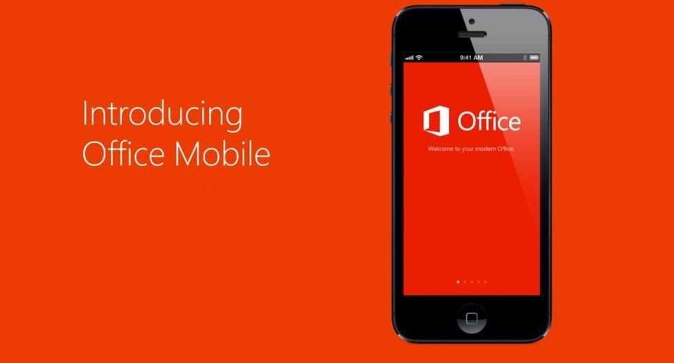 Microsoft Office approda finalmente su iPhone, o quasi