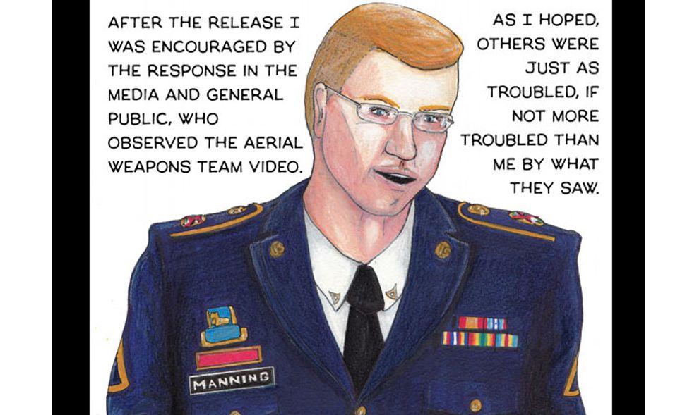 Bradley Manning diventa un fumetto