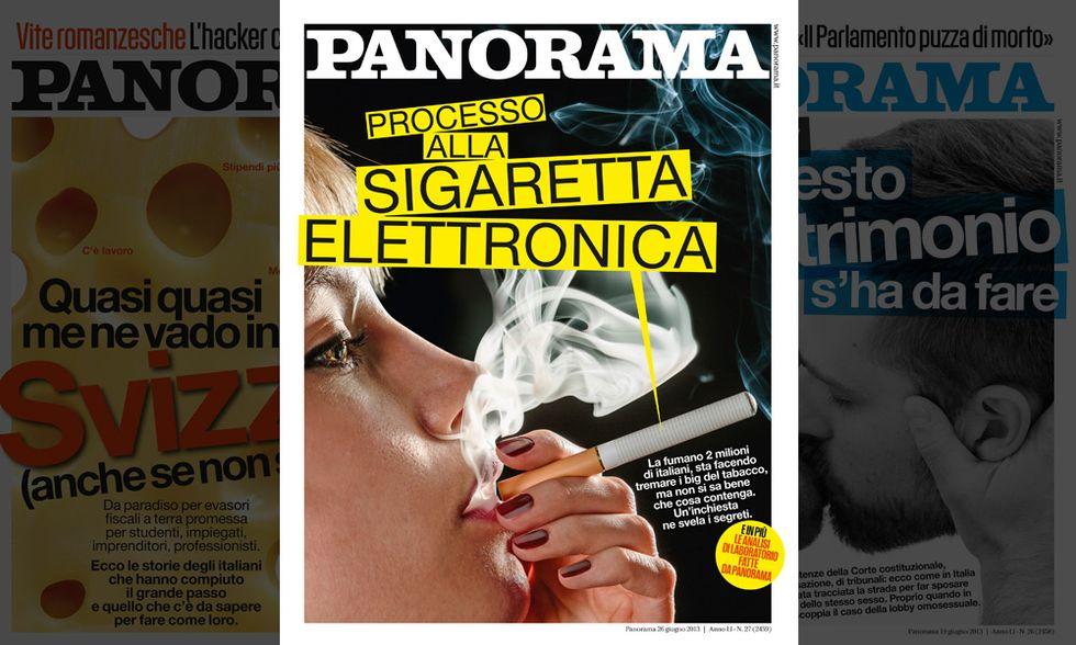 Panorama: processo alla sigaretta elettronica